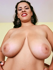 Three rookie hotties share their big natural tits.